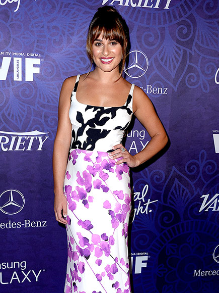 WHAT A PRINTS-ESS photo | Lea Michele