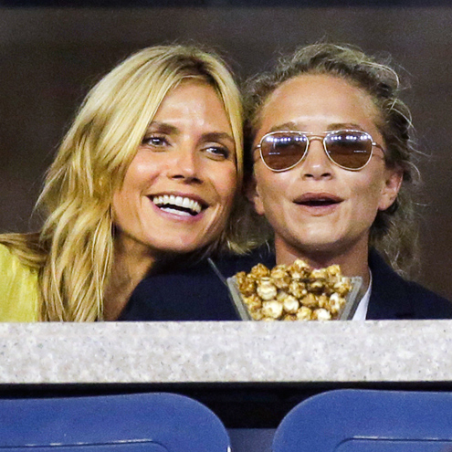 IS IT 'LOVE'? photo | Heidi Klum, Mary-Kate Olsen