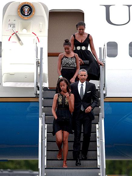PRESIDENTIAL WEDDING GUESTS photo   Barack Obama