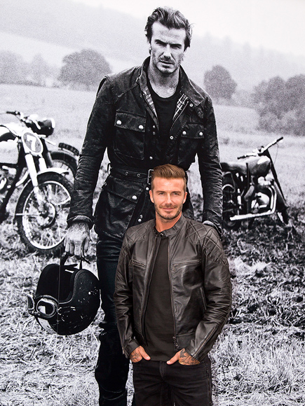 SEEING DOUBLE photo | David Beckham