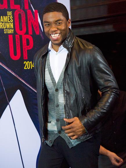 OVER & UP photo   Chadwick Boseman