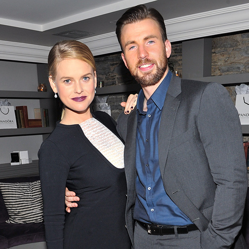 WELL SUITED photo   Alice Eve, Chris Evans