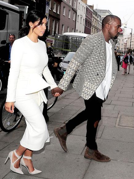 DRESSED TO IMPRESS photo | Kanye West, Kim Kardashian