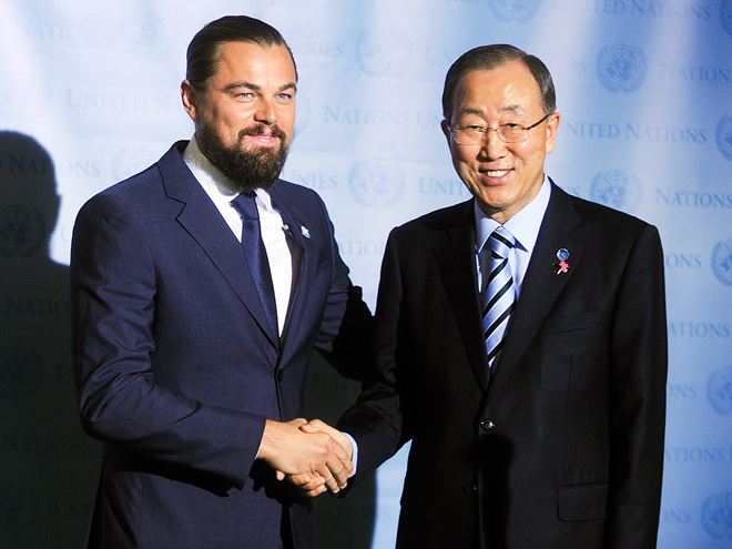GIVE PEACE A CHANCE photo | Leonardo DiCaprio