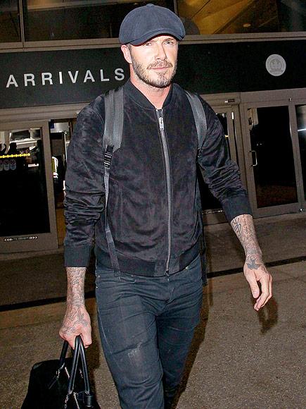 MAN IN BLACK photo | David Beckham