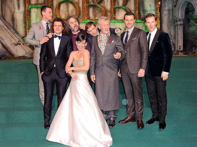 Лондонская премьера 'Хоббита': звезды Средиземья в сборе