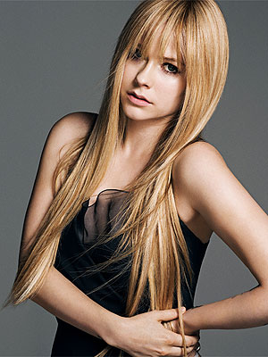 Avril Lavigne makeunder