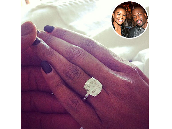 Gabrielle Union engagement ring details