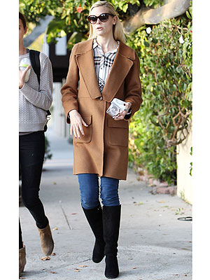 Jaime King jacket