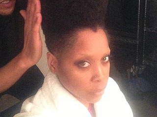 Hair-Raising! Erykah Badu Gets a Gravity-Defying High-Top Fade (PHOTO)