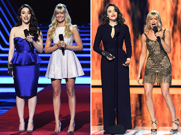 Kat Dennings and Beth Behrs People's Choice Awards