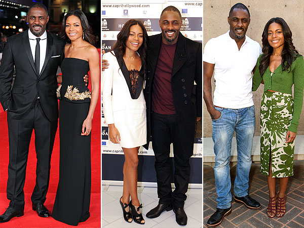 Idris Elba Naomie Harris Long Walk to Freedom
