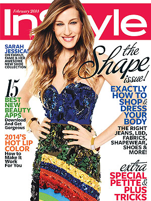 Sarah Jessica PArker InStyle