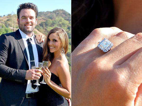 Scheana Marie engagement ring