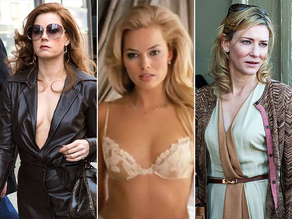 Amy Adams, Margo Robbie, Cate Blanchett