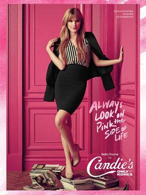 Bella Thorne Candie's ad