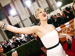 Our Golden Globes Red Carpet Experience, Expressed Through the Magic of GIFs