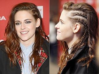 Are You Loving Kristen Stewart's Not-Quite-Cornrows Braided Look? | Sundance, Kristen Stewart