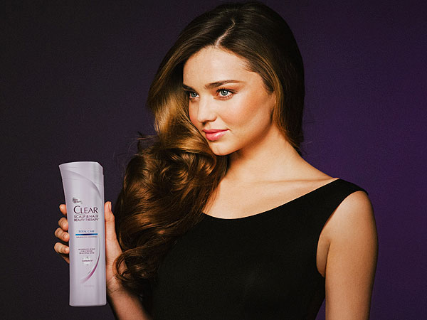 Miranda Kerr clear ads