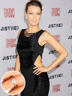 Natalie Zea engagement ring
