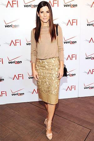 Sandra Bullock skirt