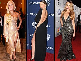That's a Whole Lotta Skin! See Sofia Vergara's Golden Globes After Party Dress | Lady Gaga, Miranda Kerr, Sofia Vergara