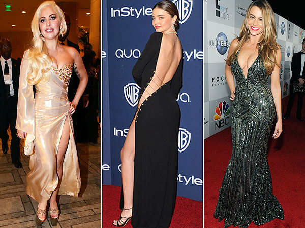 Lady Gaga, Miranda Kerr, Sofia Vergara Golden Globes after parties