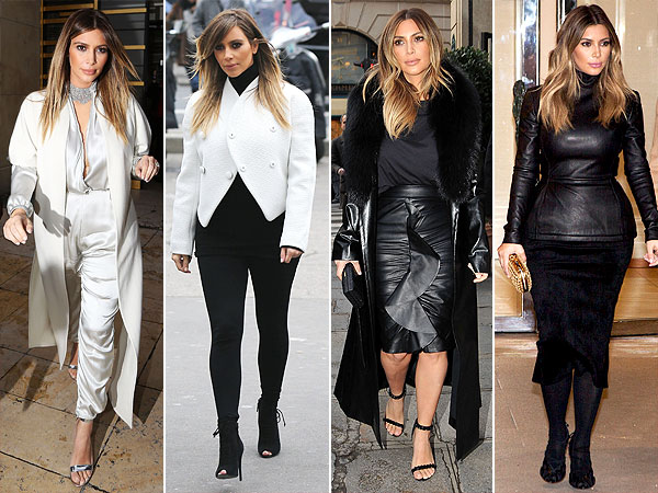 Kim Kardashian Style Kim Kardashian Paris Fashion Week Kim And Kanye Style News Stylewatch