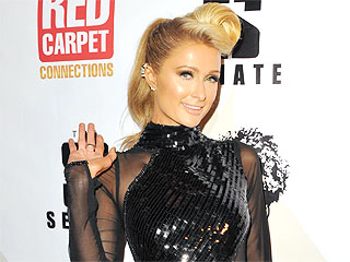 Paris Hilton Forgoes Underwear for Her Super-Revealing Sheer Dress