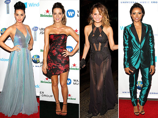 Kat Perry, Kate Beckinsale, Chrissy Teigen, Kat Graham