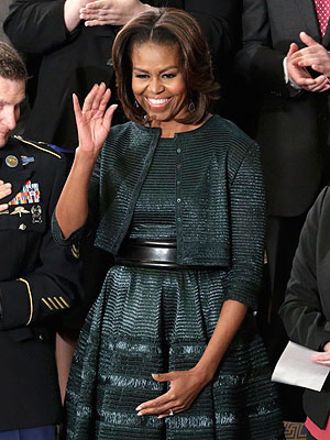 Michelle Obama SOTU dress