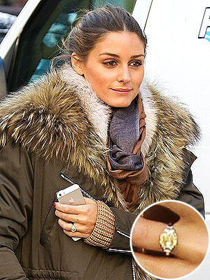Olivia Palermo engagement ring