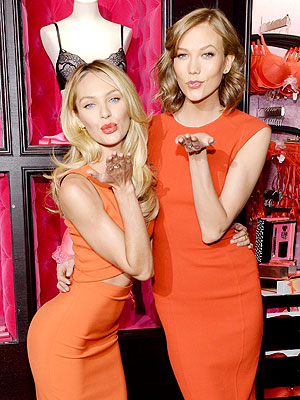 Candice Swanepoel and Karlie Kloss Victoria's Secret