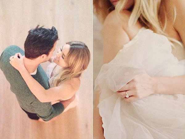 Lauren Conrad Engagement Photos