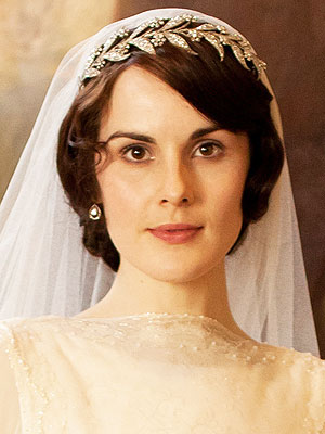 Downton Abbey Lady Mary wedding tiara