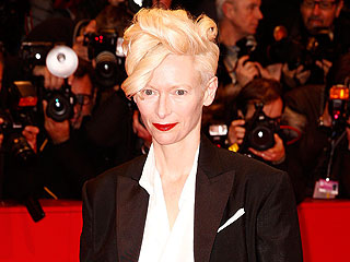 What's Going on with Tilda Swinton's Shoes?