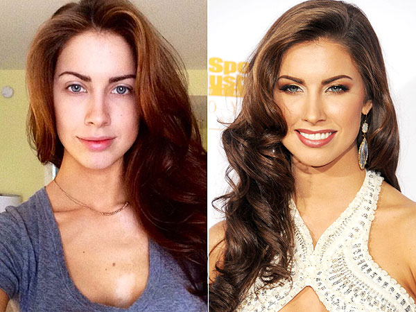 Katherine Webb no makeup