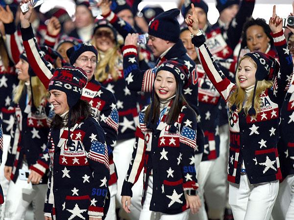 Team USA Olympic Ralph Lauren Sweater
