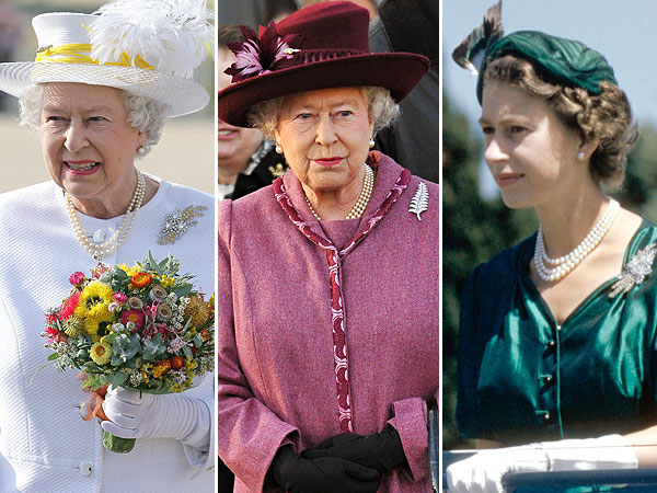Queen Elizabeth jewels