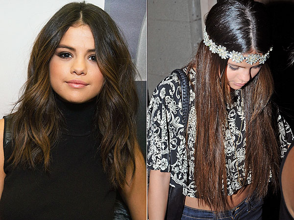 Selena Gomez hair extensions