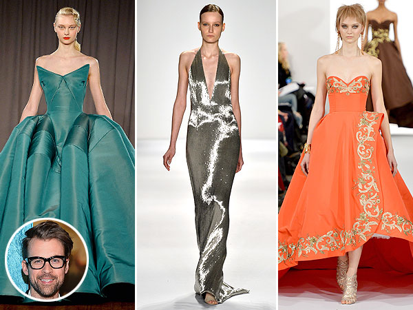 Brad Goreski Oscars gown picks