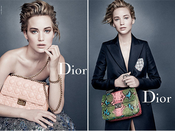 Jennifer Lawrence Miss Dior