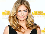 Kate Upton's Zero-Gravity Sports Illustrated Shoot: Get the Scoop on Those Gold Bikinis