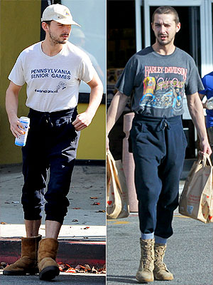 Shia LaBeouf sweatpants