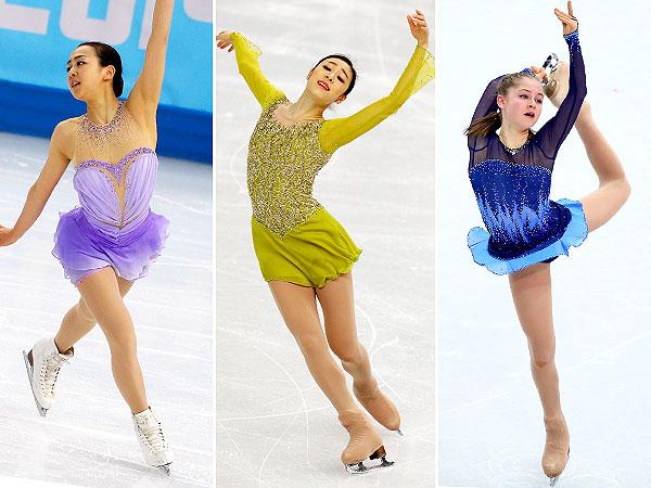 Yuna Kim, Julia Lipnitskaia costumes