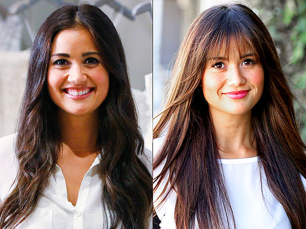 Catherine Lowe haircut