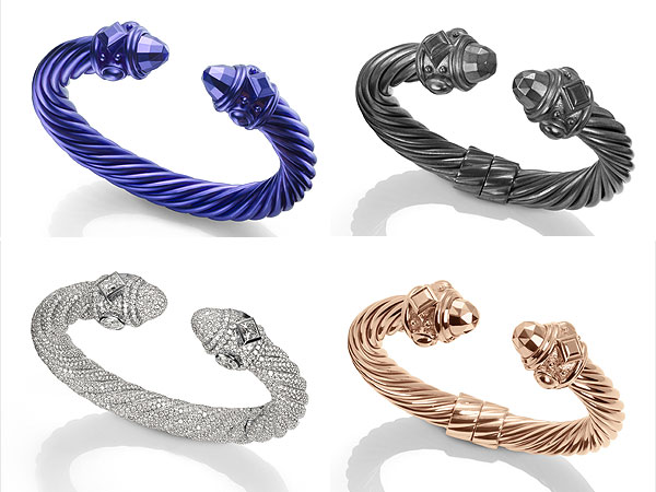 David Yurman anniversary cable bracelets