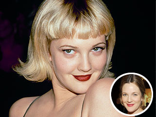 Drew Barrymore's Biggest Beauty Regret: Peppermint Patty Bangs! | StyleWatch, Drew Barrymore