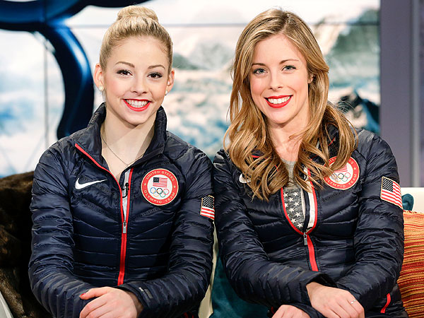 Gracie Gold, Ashley Wagner lipstick