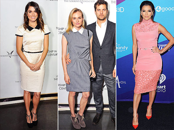 Trend report: snakeskin, collared dresses